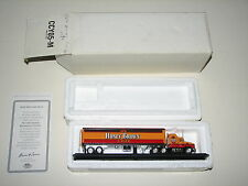 1997 Matchbox Honey Brown Lager Beer Mack Truck Semi Tractor Trailer CCY05-M New