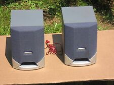 A Pair of 4' Philips Vintage Fr Speaker With Retro Design in Good Shape!