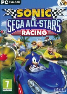 Sonic Sega All-Stars Racing - PC CD-ROM Game - Brand New & Sealed