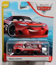 CARS 3 - JONAS CARVERS racer NO STALL TEAM - Mattel Disney Pixar