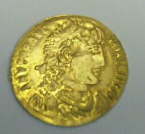 Very old coin, the kings of Rome mythology Honorius. Solidus