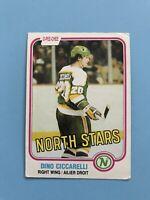 Dino Ciccarelli O-Pee-Chee Rookie NHL Hockey Card #161 1981-82