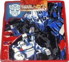 Alfombra Dormitorio Alfombra Impreso Transformers Optimus Prime Autobot Camión Rojo Azul