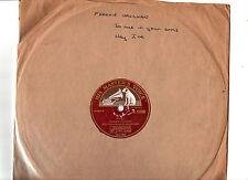 78 RPM.FRANKIE VAUGHAN.HEY JOE / SO NICE IN YOUR ARMS.UK ORIG