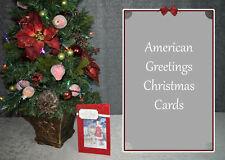 NEW American Greetings Premium Christmas Greeting Cards--More Than 45 Choices!
