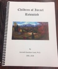 Children of Israel Revisited 2018 edition family history WNC photos genealogy