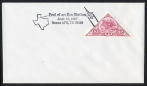 End of an Era Sta USPS Pictorial Cancel 1997 - Reese AFB