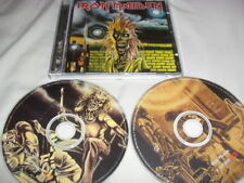 IRON MAIDEN -IRON MAIDEN- AWESOME RARE LTD EDITION 2 X PICTURE DISC CD HOLLAND