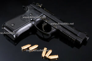 Mini Model Gun - M92F (Shell Eject, Black) For Display only