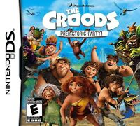 THE CROODS PREHISTORIC PARTY DS