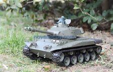 1/16 2.4G Rc Henglong Smoke & Sound Usa M41A3 Bulldog Tank Metal Gearbox Version