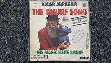 Vader Abraham - Smurf song 7'' Single SUNG IN ENGLISH (Das Lied der Schlümpfe)