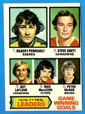 1977-78 Topps GUY LAFLEUR Game Winning Goals (ex-) Montreal Canadiens