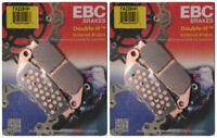 EBC Double-H Sintered Metal Brake Pads FA226HH (2 Packs - Enough for 2 Rotors)