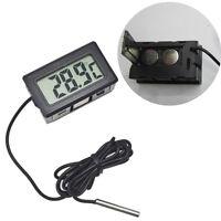 Thermomètre électronique numérique intégré sonde de température eau extérieure t