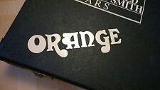 Orange Amplifiers Decal Logo Sticker for Guitar Hard Case, Amp Cab, Wall Art,