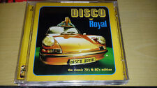 Disco Royal The Classic 70's & 80's Edition NEW Sealed 2 CD Space Sly Lipps KATO