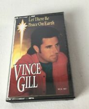 Vince Gill Christmas Cassette Tape Let There Be Peace On Earth 1993