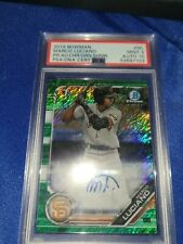 MARCO LUCIANO 2019 Bowman Chrome Green Shimmer Auto PSA/DNA 10