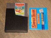 Super Team Games w/Manual & Sleeve Nintendo Nes Tested Authentic