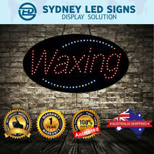 Animated LED NEON Motion Flash Open Business Sign WAXING SIZE: 68.5CM X 38CM