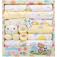 18pcs Lot Cotton Newborn Infant Clothes Set Original Baby Boy Girl Clothing Gift