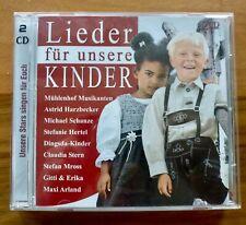 Lieder für unsere Kinder, 2 CD´s, 16 Lieder, beste Unterhaltung, Top-Zustand!