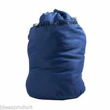 Safeknot Laundry Bag sack hamper Blue reusable clothes industrial commercial NHS