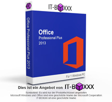 Microsoft Office 2013 Professional Plus MS Pro esd Word Exel Outlook