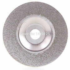 "4"" inch Diamond Coated Grinding Disc Wheel Grit 60 Coarse Arbor Hole  5/8"" For"