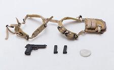 1/6 DAM x Blitzway Universal Soldier M9 Pistol Shoulder Holster Grenades