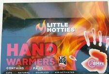 40 Pairs Little Hotties Hand Warmers, Heat Pack Socks Heater Snow Ski Warmers