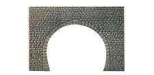 DOUBLE TRACK TUNNEL PORTAL - HO SCALE in FOAM by FALLER 170831