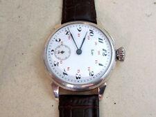 LIP SILVER Enamel dial Swiss vintage men's mechanical wristwatch