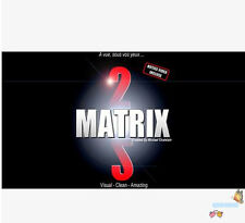 New arrival Matrix 2.0 (Blue or Red) by Mickael Chatelain,Card Magic,mentalism