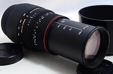 [Exc+++] SIGMA 70-300mm F4-5.6 DG Lens For Minolta/Sony w/Hood From Japan
