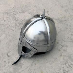 Medievale Viking Maschera Casco Rievocazione Deluxe Warrior Armor Prop