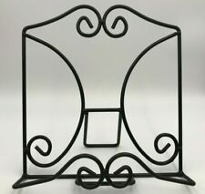 Wrought Iron Book Picture Display Stand Easel Art Picture Frame Holder Amish USA