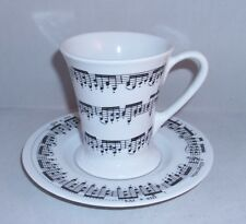Kaffeebecher  Becher Tasse Henkelbecher mit Untere Noten Musik