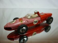 DINKY TOYS FERRARI 156 SHARKNOSE RACING CAR -  HILL No 36 - F1 RED 1:43? - GOOD