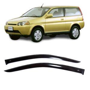 For Honda HR-V 3d 1998-2005 Side Window Visors Sun Rain Guard Vent Deflectors