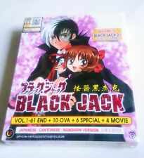 BLACK JACK + 21 + 10 OVA + 6 Special + 4 Movies Anime TV Series DVD Box Set