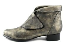 EVERYBODY BY BZ MODA SHOES FAITH METALLIC BOOTIES ANKLE BOOTS SIGARO NEW  39.5