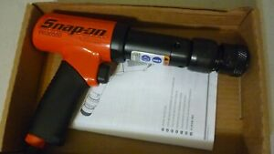 New Snap On Super Duty Air Hammer, Red Color, With Quick Change Chuck