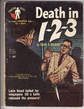 ROBERT ABRAHAMS - DEATH IN 1-2-3      pulp crime