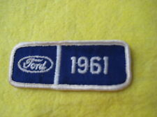 "Vintage 1961  Ford Patch 3 1/2"" X 1 1/2"""
