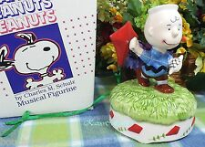 Willitts Snoopy Charlie Brown Flying Kite Musical Music box w/box