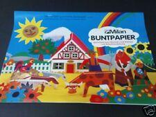 MILAN Buntpapier DIN A4 - 12 Farben sortiert