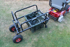 Mobility Scooter Carp Lake Fishing Tackle Gear Towing Transport Trailer Solution