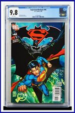 Superman Batman #44 CGC Graded 9.8 DC February 2008 White Pages Comic Book